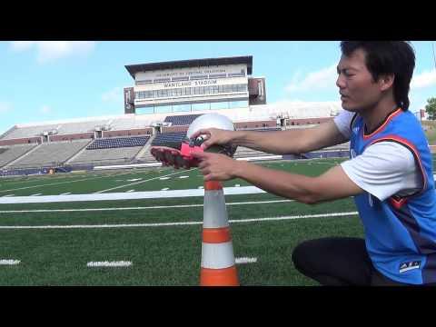 HọC ĐÁ BÓNG - Bài #160: Cách chuyền bóng xà bằng mu trong bàn chân