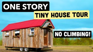 Charming Rustic Tiny House With One Floor Living No Sleeping Loft!