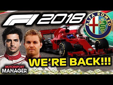 PHOTO-FINISH RACE!!! Game Issues Fixed! - F1 2018 Alfa Romeo Manager Career Part 35