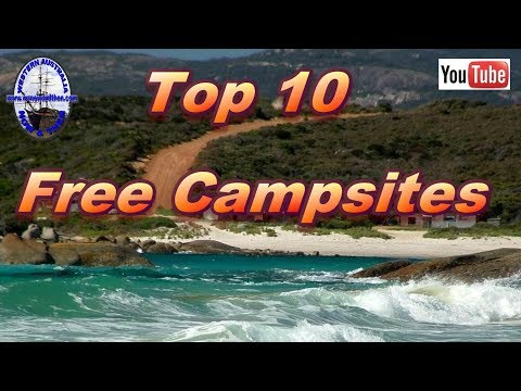 Top 10 FREE Campsites - Part 2/3 - Western Australia