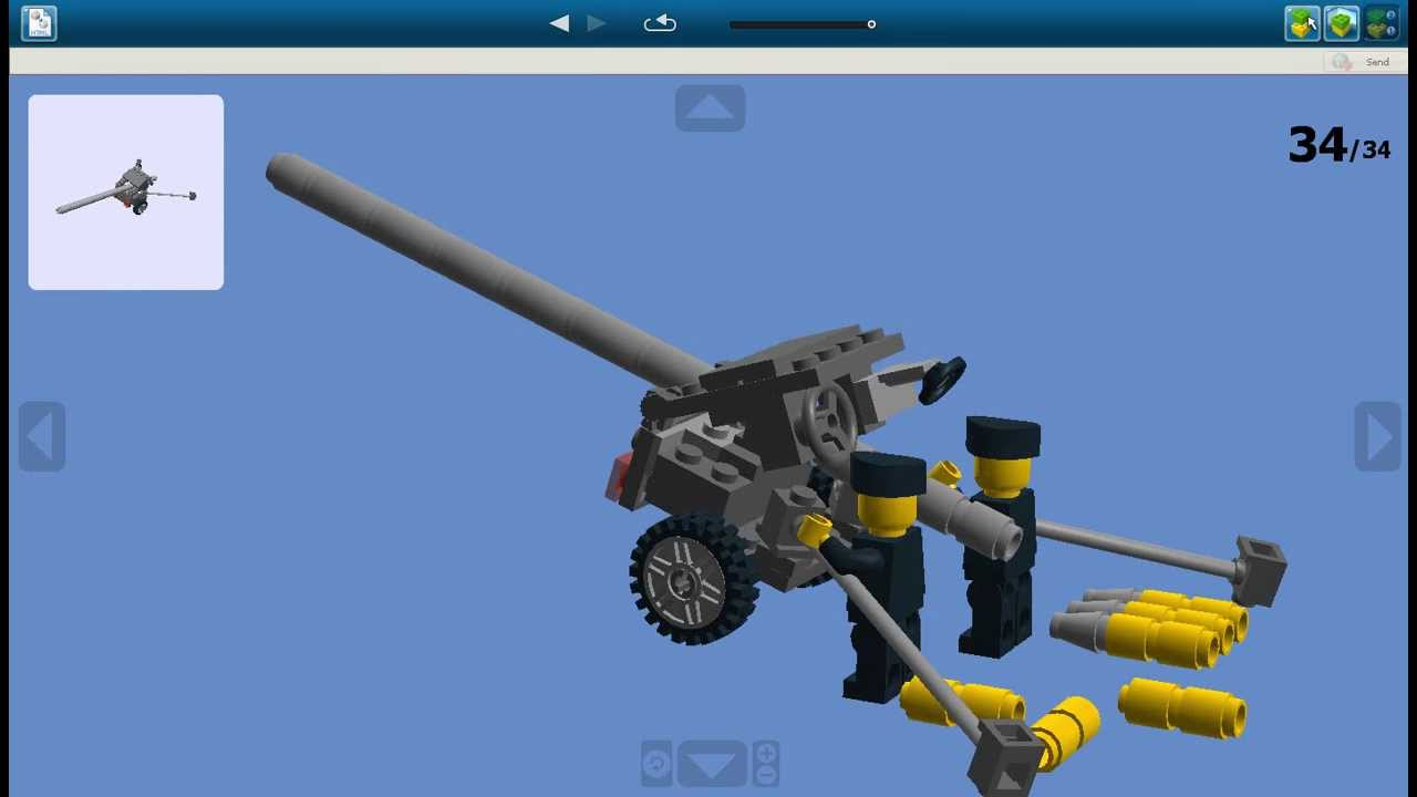 How To Build Lego Guns Instructions