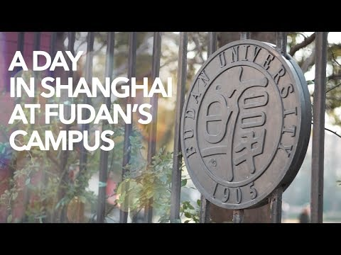 Fudan University Campus | A day in Shanghai