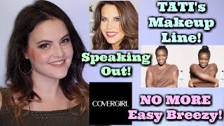 What's Up in Makeup NEWS! Tati's Makeup Line! Dove Model Speaks Out! Cover Girl Ditches Slogan!