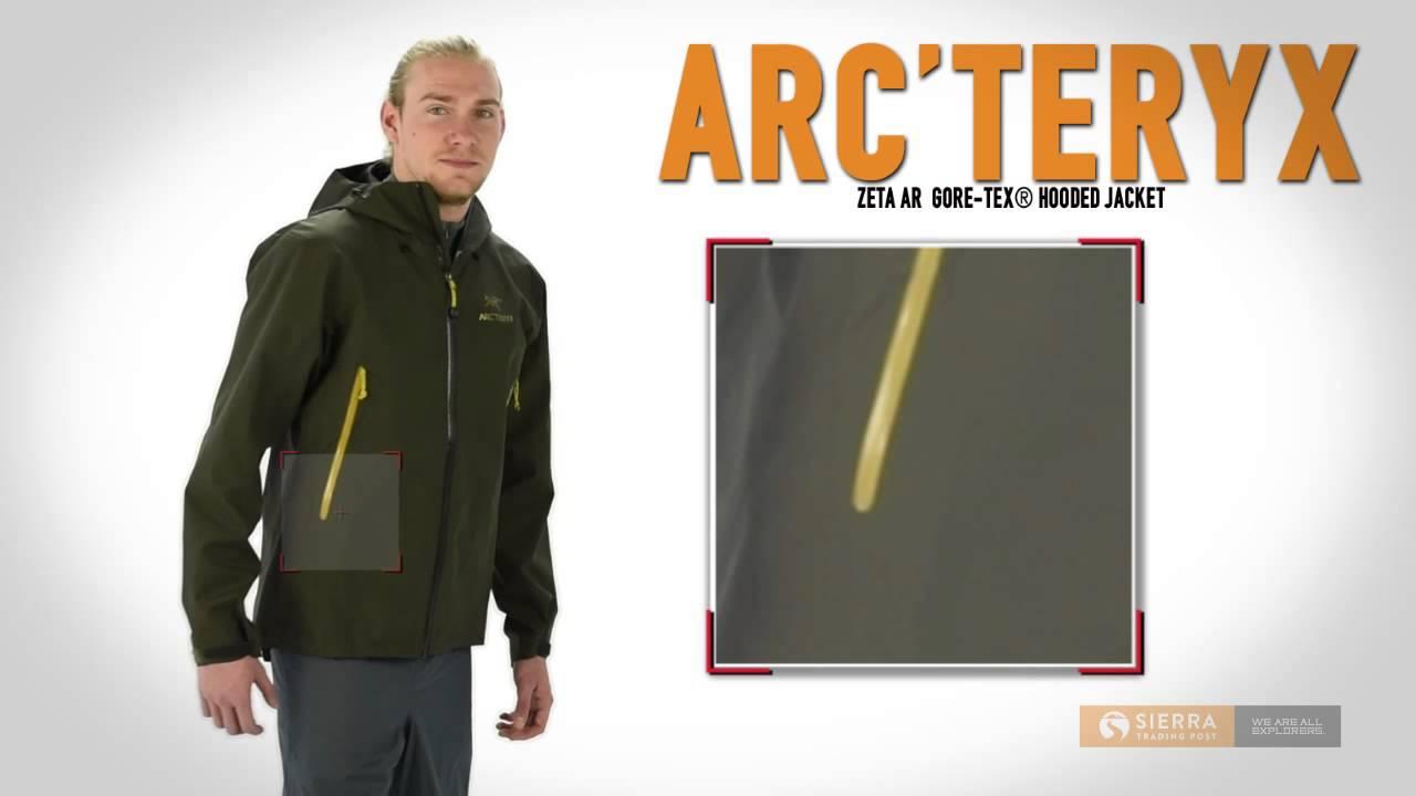 d72de5507 Arc'teryx Zeta AR Gore-Tex® Hooded Jacket - Waterproof (For Men)