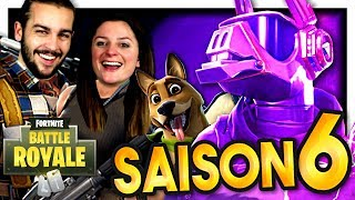 SAISON 6 FORTNITE: NEW MAP AND NEW SKINS! FORTNITE DUO EN