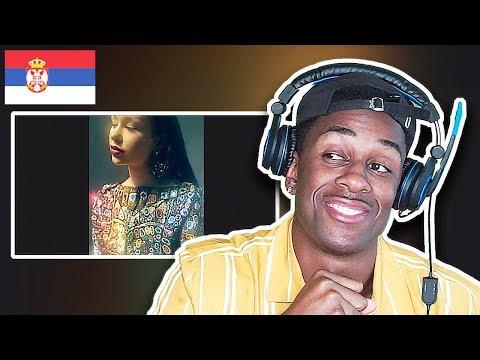 AMERICAN REACTS TO SERBIAN MUSIC | Elena – Zabranjujem – (Official Vertical video)