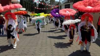 Carnaval Tenancingo Tlaxcala 2017 sección 4ta. Día Martes 1