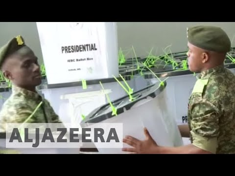Uhuru Kenyatta wins disputed Kenya election rerun