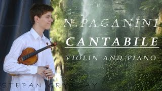 Stepan R. Grytsay - N. Paganini: Cantabile (Violin and Piano)