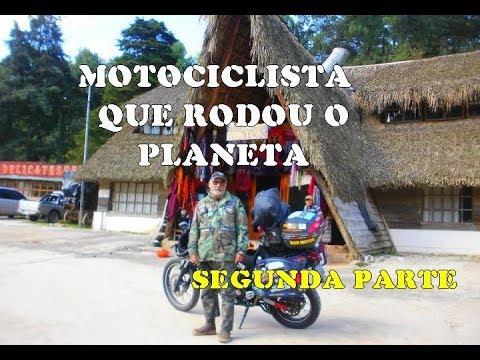 MOTOCICLISTA RECORDISTA NO GUINNES RODOU O MUNDO SEGUNDA PARTE AUGUSTO LINS E SILVA entrevista