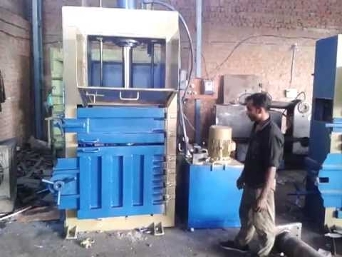 Pet Bottle Baling Press Machine Youtube