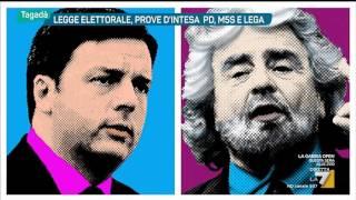Tagadà - D'Alema e l'irresistibile voglia di leadership (Puntata 01/02/2017)