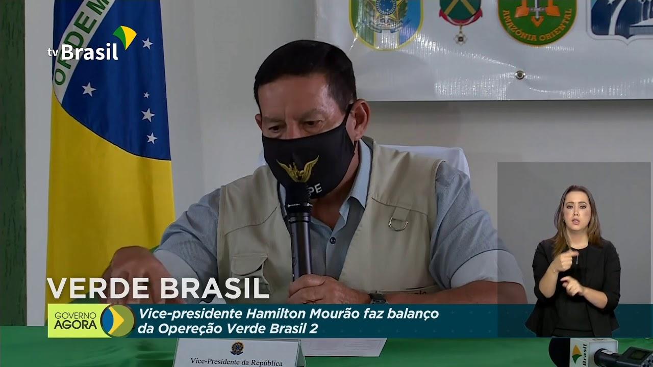 Coletiva de imprensa sobre Operação Verde Brasil 2