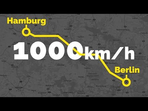 Von Berlin nach Hamburg in 20 Minuten