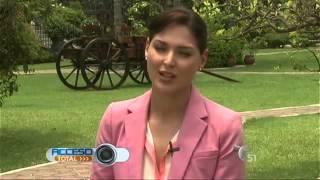 Blanca Soto es Señora Acero en Acceso Total 10-Sept-14