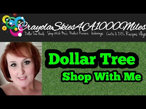 Dollar Tree Shop With Me|New Items|July 2017