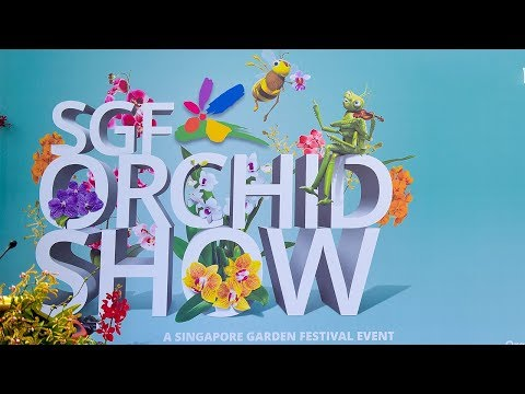 Singapore Garden Festival (SGF) Orchid Show