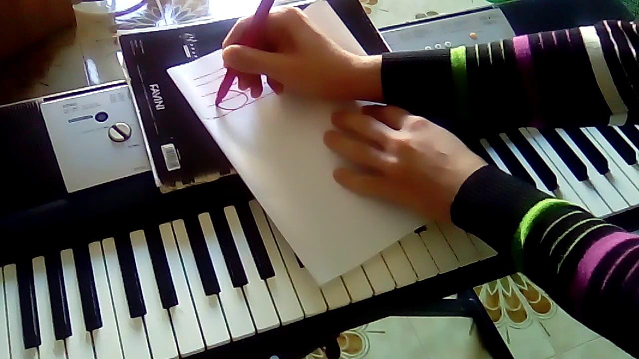 Come Suonare Le Note Scritte Sul Pentagramma Tastiera Pianoforte
