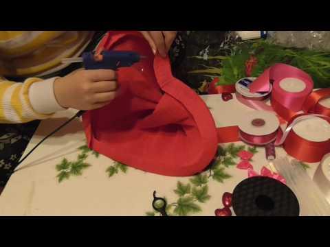 Мастер класс Букет из игрушек.Как сделать каркас в форме сердца