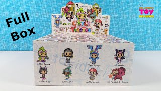 Tokidoki Little Terrors Blind Box Figures Review Unboxing   PSToyReviews