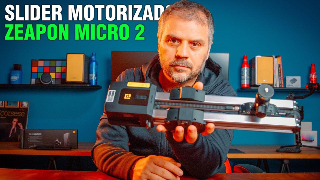 Zeapon Micro 2 Review do melhor slider motorizado preço/qualidade para timelapse e video
