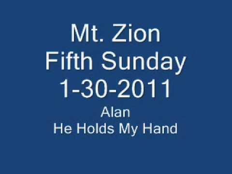Alan   He Holds My Hand