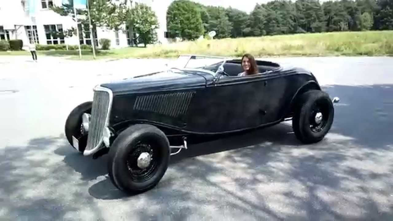 1934 Ford Highboy Roadster, .... confiscated by \