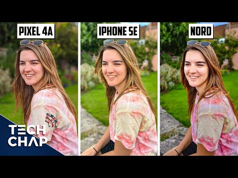 Pixel 4a vs iPhone SE vs OnePlus Nord CAMERA Comparison!   The Tech Chap