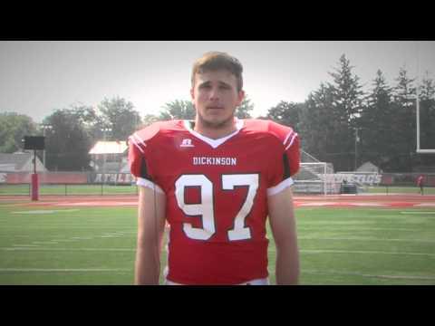 2015 Dickinson Football: #97 Chris Snyder