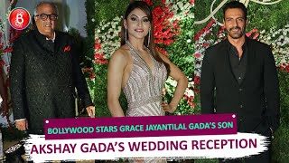 Bollywood Stars grace Jayantilal Gada's son Akshay Gada's Wedding Reception