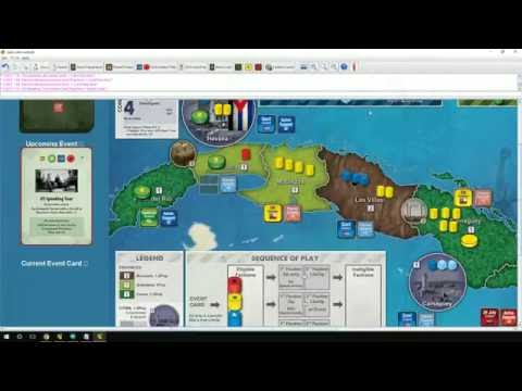 Introduction to COIN series of board games - using Cuba Libre for examples