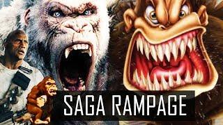 SAGA RAMPAGE : DESTRUIÇÃO TOTAL!! SIM, AQUELE DO FILME!
