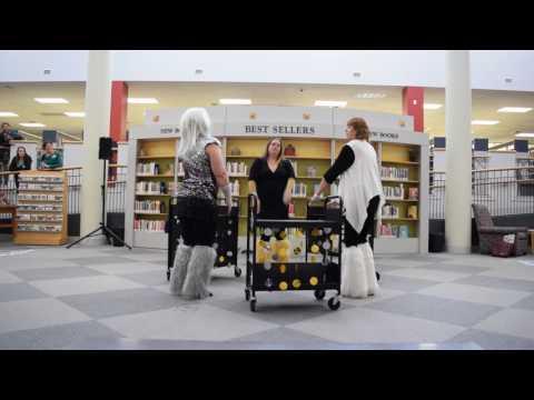 Chesapeake Public Library 2017 Staff Day Book Cart Drill Team