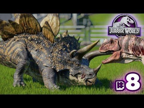 STEGOCERATOPS IMPALE!!! - Jurassic World Evolution - Secrets of Dr.Wu | Ep8 HD