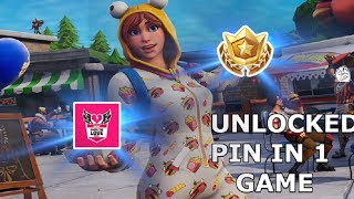 How I Got a Pin In 1 Game... ll Open Division Tournament ll Fortnite Battle Royale