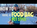 How To Hang Your Food Bag PCT STYLE mp3