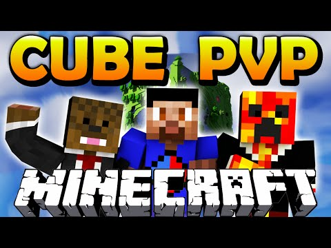 Minecraft CUBE PVP #1 with The Pack