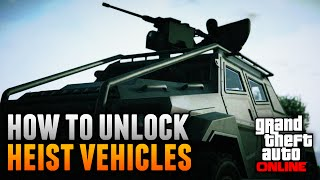 gta 5 online how to unlock all heist cars vehicles gta 5 heist dlc update
