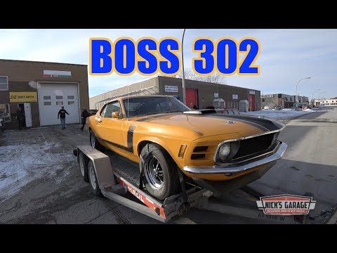 1970 Mustang Boss 302 - 25 YEARS in storage