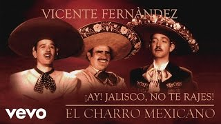 Vicente Fernández - ¡Ay! Jalisco, No Te Rajes (Cover Audio)