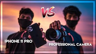 iPhone 11 Pro vs  $2000 PRO CAMERA!