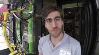 NYCeWheels Store Tour - Brompton Folding Bicycles and Electric Bikes in Manhattan New York City