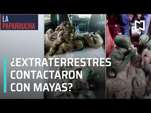 Extraterrestres tuvieron contacto con los mayas, la paparrucha del día