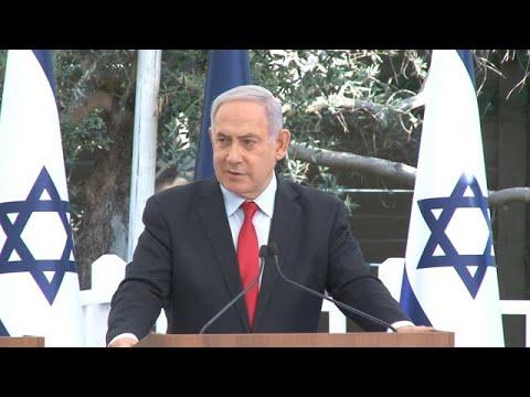 בנימין נתניהו מדבר על האובן של סלומון טקה ועל הנשק הגרעיני של איראן בטקס הענקת תעודות הוקרה ליחידות