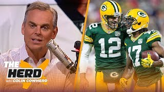 No doubt Wentz is an elite QB, losing Adams can not be an excuse for Aaron Rodgers | NFL | THE HERD