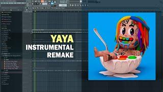 6ix9ine - YAYA (Instrumental) + Free FLP Remake
