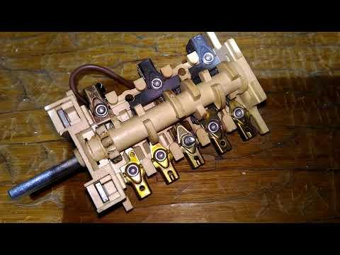 Ремонт переключателя электропечей.
