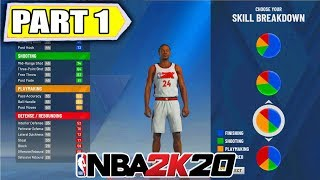 NBA 2K20 MyCareer Ep 1 - THE ULTIMATE POINT GUARD PLAYER CREATION - Daryus P