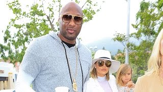 Khloe And Lamar Attend Easter Day Service Together Like Family