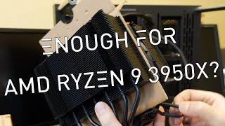 Noctua NH-D15 chromax.Black w/ AMD Ryzen 9 3950x – how much faster is it?